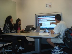 Collaboration technology is particularly well suited to group study rooms